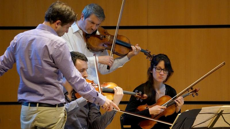 Stage de musique avec le Quatuor Debussy ouvert aux amateurs : 25 & 26 janvier 2020