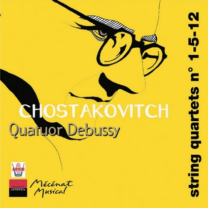 CHOSTAKOVITCH, Quatuors n°1-5-12