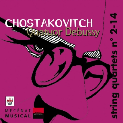 CHOSTAKOVITCH, Quatuors n°2-14