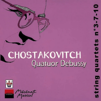CHOSTAKOVITCH, Quatuors n°3-7-10