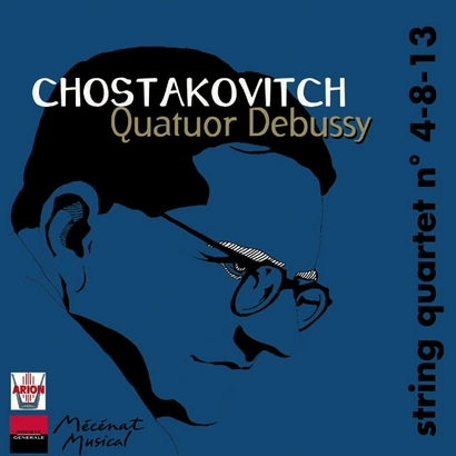 CHOSTAKOVITCH, Quatuors n° 4-8-13