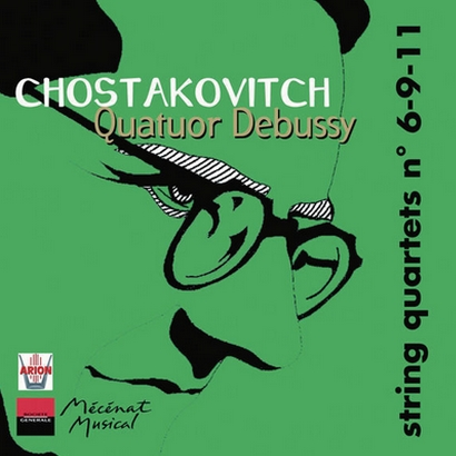 CHOSTAKOVITCH, Quatuors n°6-9-11