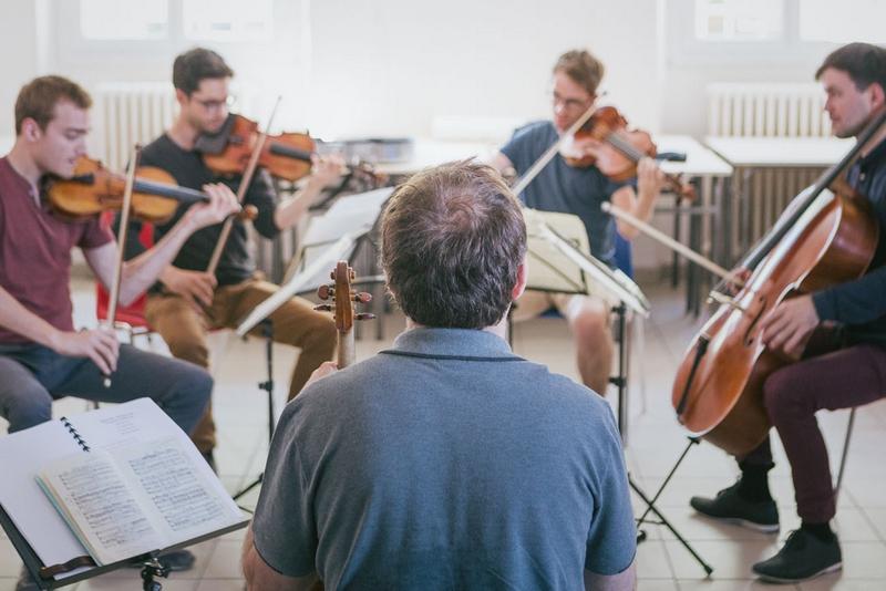 Formation spécialisée de quatuor à cordes : inscriptions au concours d'entrée bientôt ouvertes !