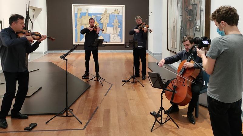 Le Quatuor Debussy participe à la Nuit Européenne des Musées