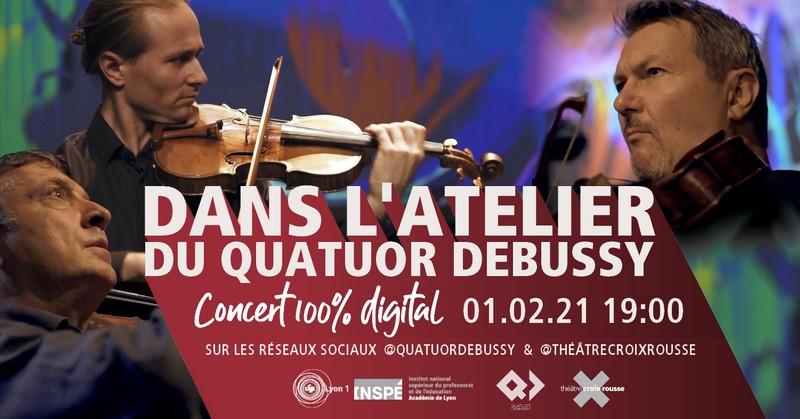 Prochain atelier-concert 100% digital