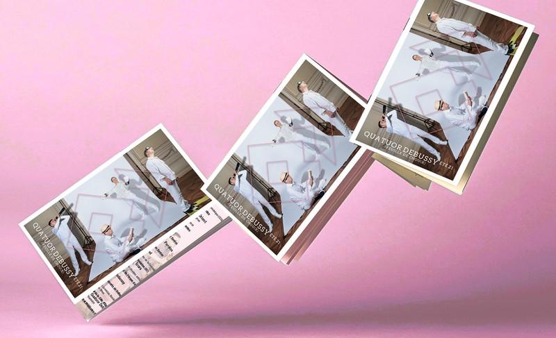 Le magazine d'été du Quatuor Debussy est arrivé !