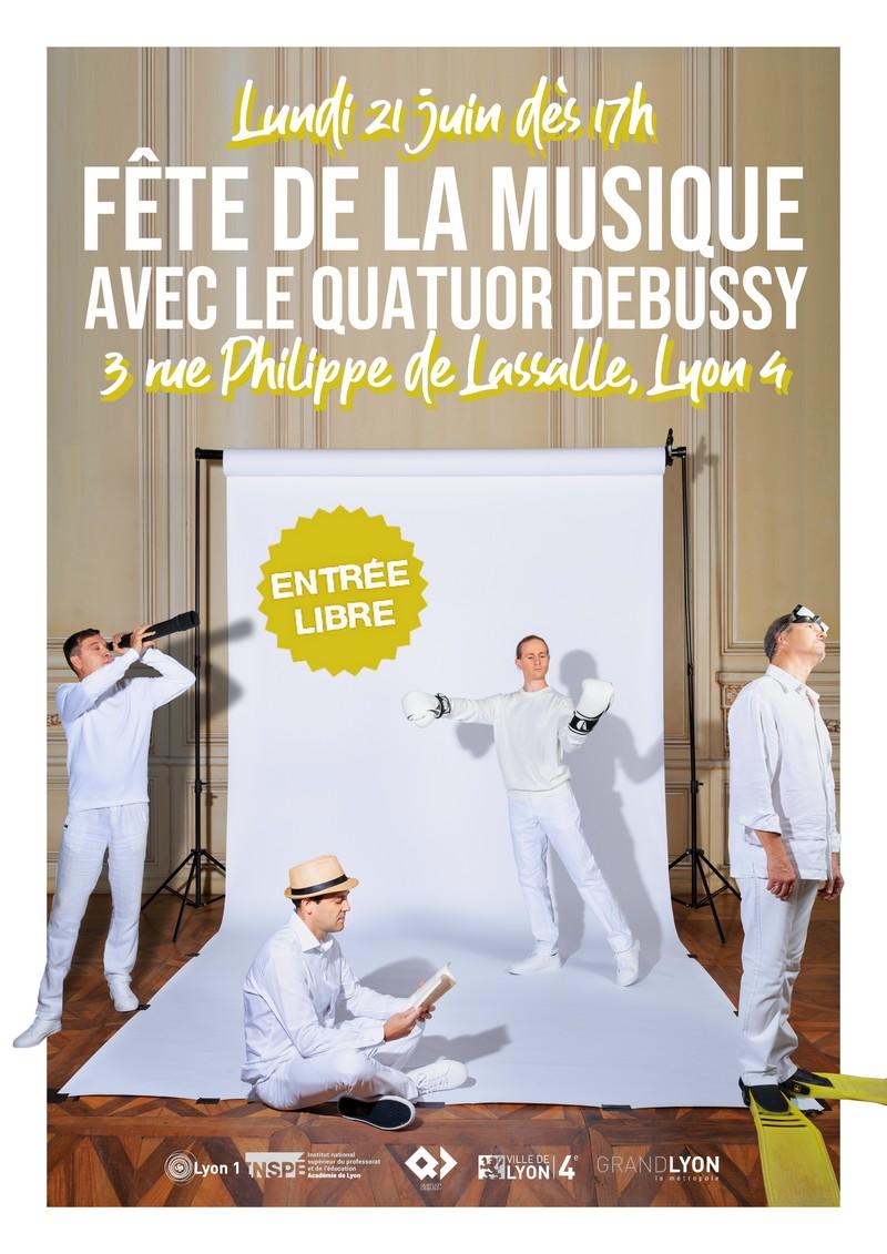 La Fête de la Musique 2021 du Quatuor Debussy