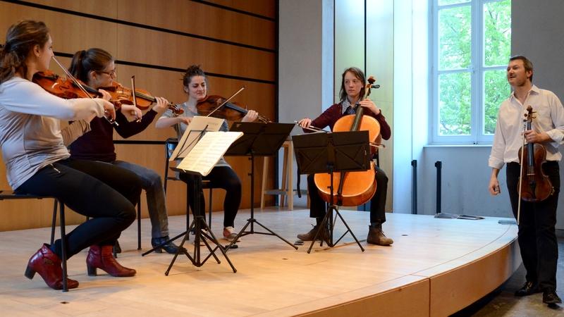 Inscriptions au cycle spécialisé de quatuor à cordes avec le Quatuor Debussy